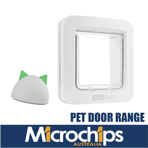 Sure Petcare Microchip Pet Door For Companion Animals (Pets)