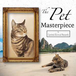 Pet Masterpiece for Cats (A3) - $99.99