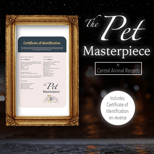 Pet Masterpiece for Dogs (A3) - $99.99