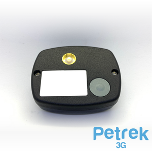 Black Petrek 3G - GPS Pet Tracker By Trackall For Companion Animals (Pets)