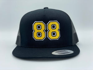 "88 PASTA ""Mesh High Crown SnapBack"""