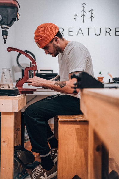 Created in 2014, Creature Supply is high end, lifestyle, accessory brand based out of Saskatoon, SK. The focus is on simple design that stands out and is separated from others by the attention to detail that goes into each one of our products. We set out to create timeless work through inspiration and design that is uniquely our own.