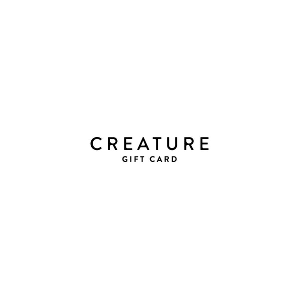 Creature Supply Gift Card