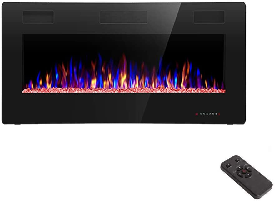 36 inch Recessed and Wall Mounted Electric Fireplace - Tns super store