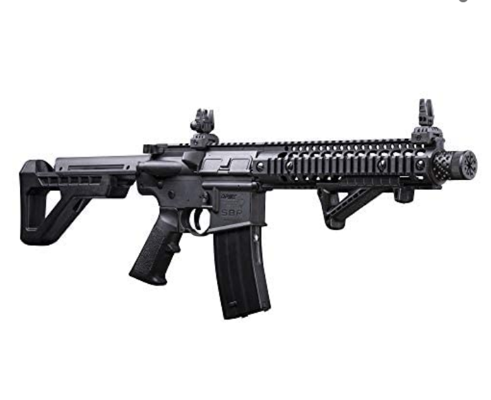 DPMS Full Auto SBR CO2-Powered BB Air Rifle with Dual Action Capability - Tns super store