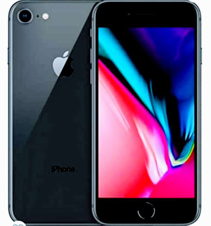 Apple iPhone 8, Fully Unlocked, 64GB - Space Gray (Renewed) - Tns super store