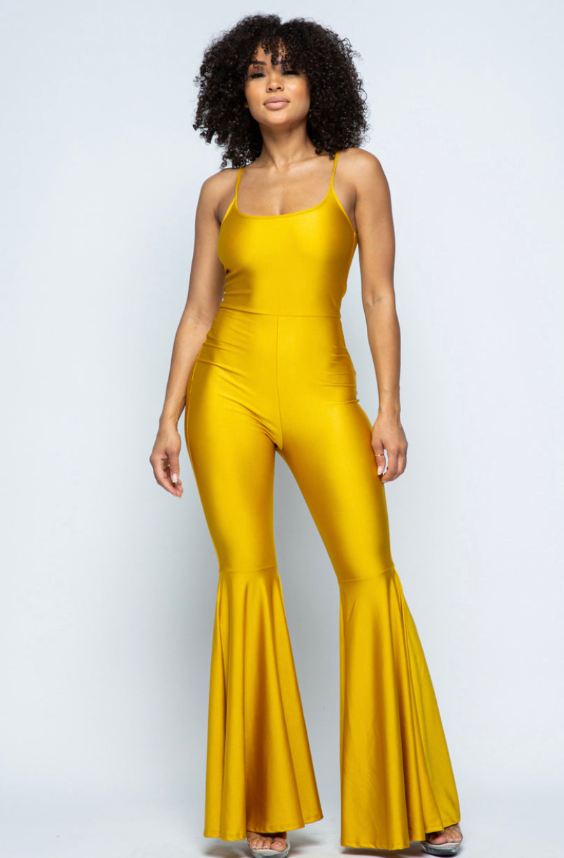 The Gold Dolly Jumpsuit