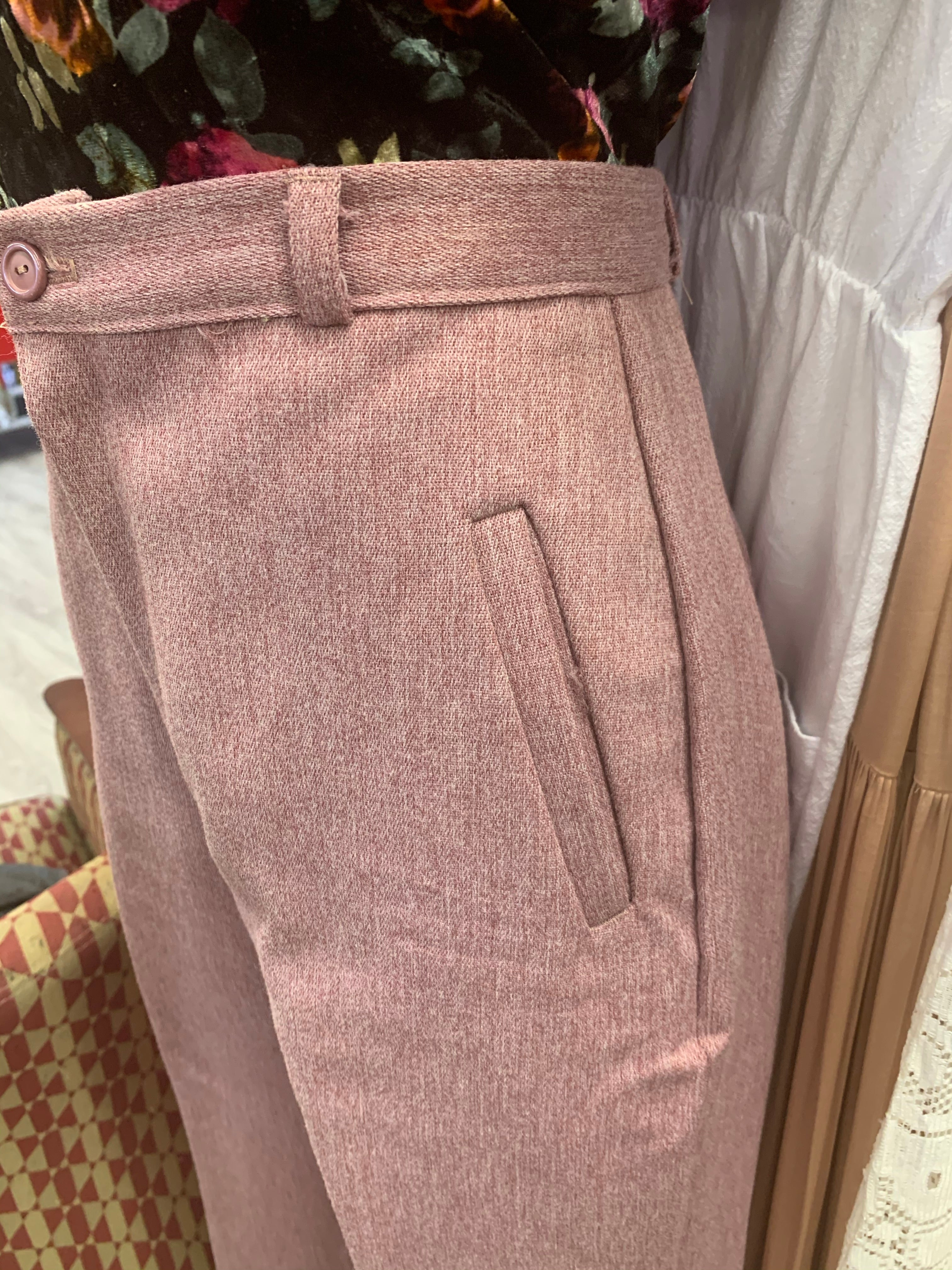 Beautiful 60's polyester trousers