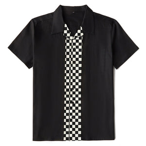 Open image in slideshow, Rockabilly Bowling Shirt