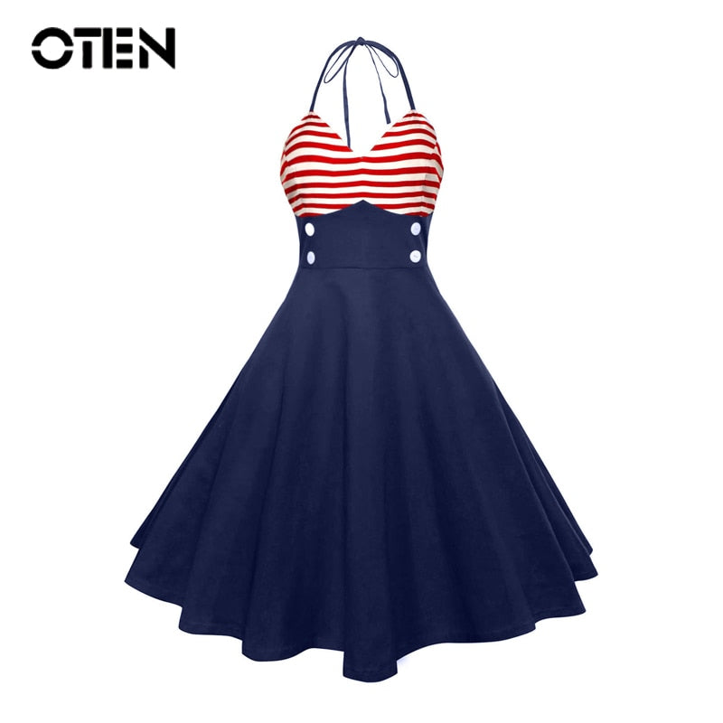 Sailor Rockabilly Dress