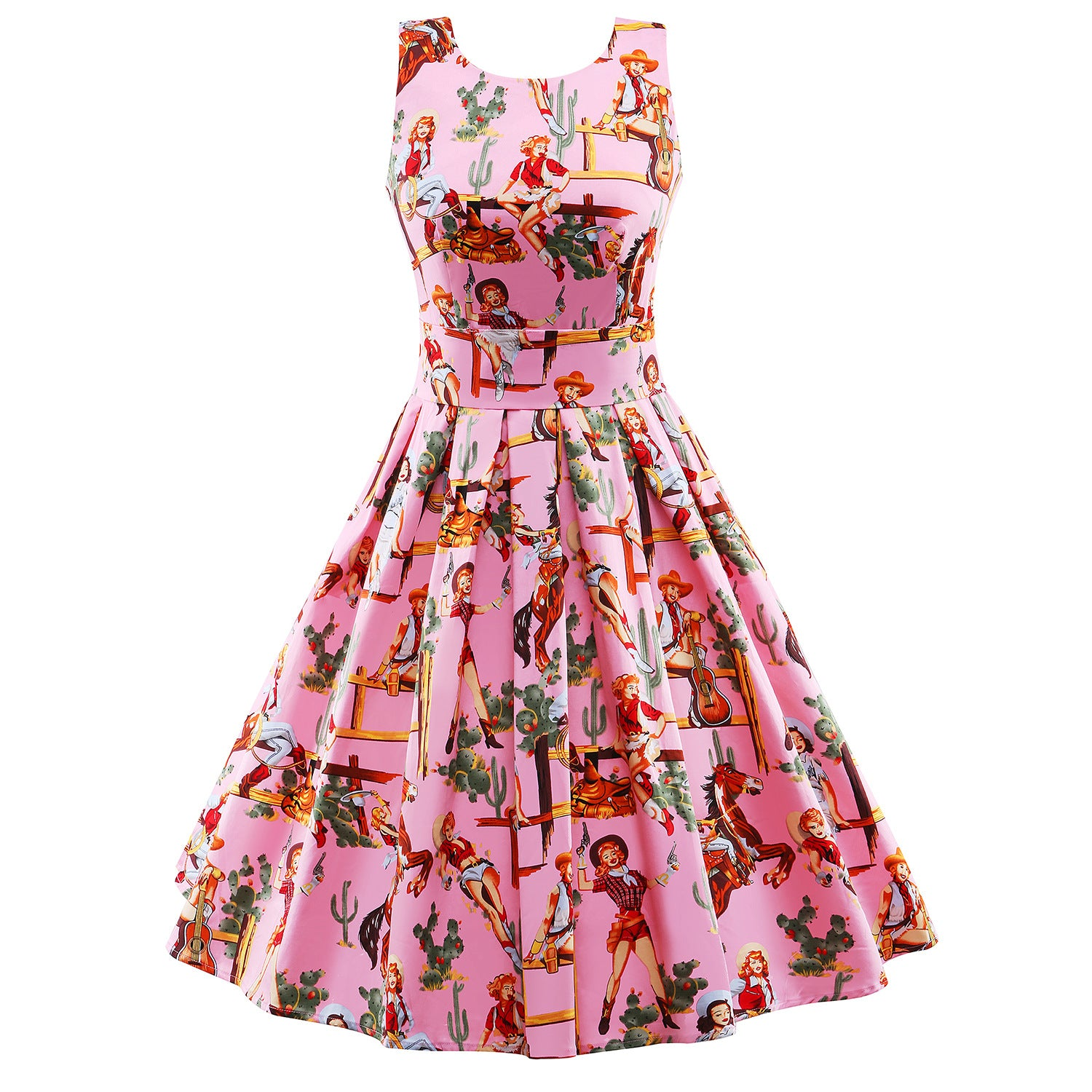 Cowgirl Rockabilly Dress