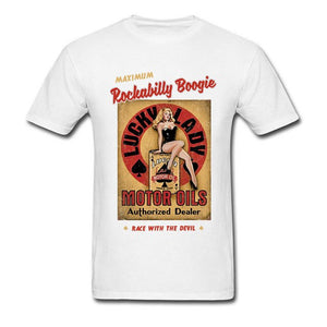 Open image in slideshow, Retro Rockabilly Boogie T-Shirt