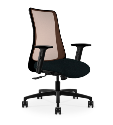 VIA Genie Copper Mesh Task Chair - Block the Germs