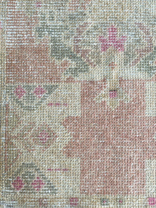 Vintage Turkish Rug - 1'9 x 3'2