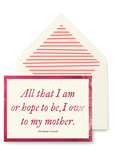 All That I Am Greeting Card