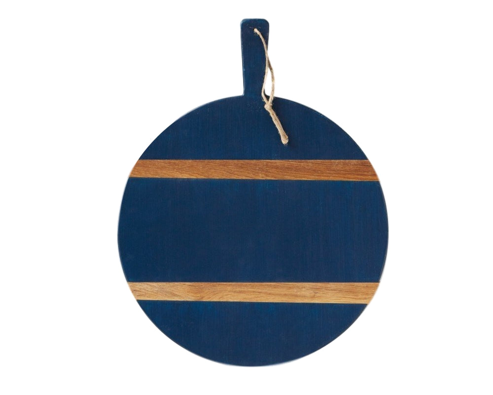 Navy Round Mod Charcuterie Board