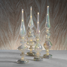 Load image into Gallery viewer, LED Cloud Luster Glass Finials