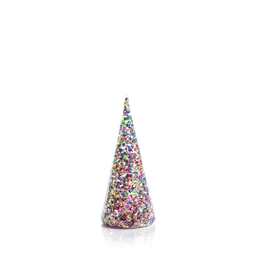 LED Multicolor Sequin Trees