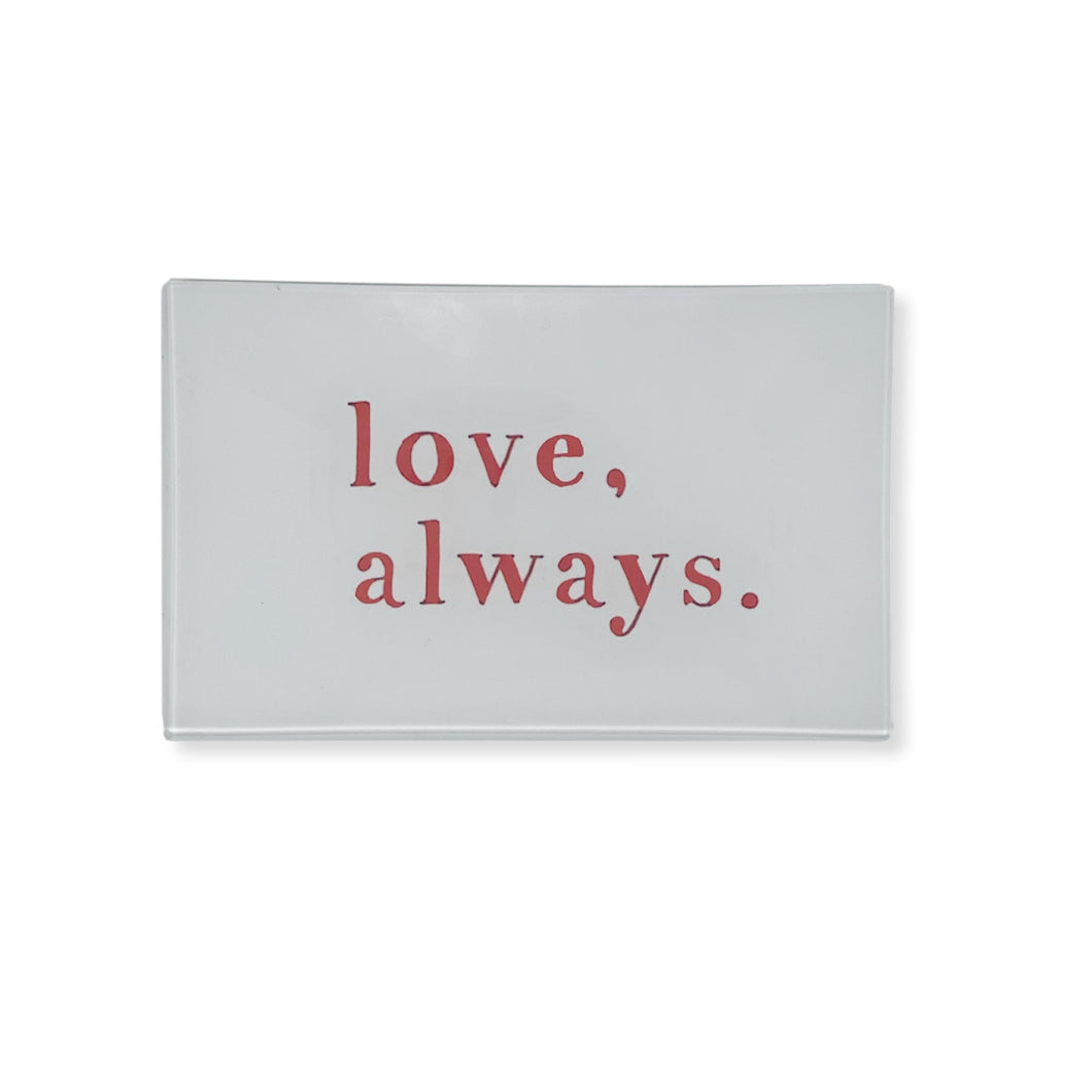 Love Always Treasure Tray