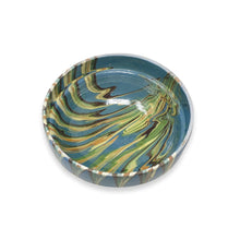Load image into Gallery viewer, Marbleized Romanian Bowls - Blue/Green