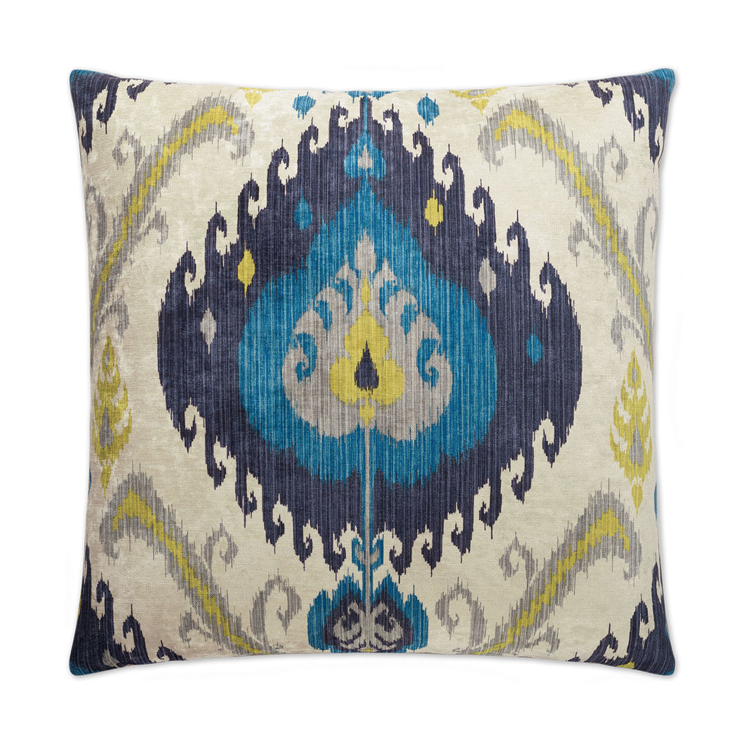 Samarkand Peacock Pillow