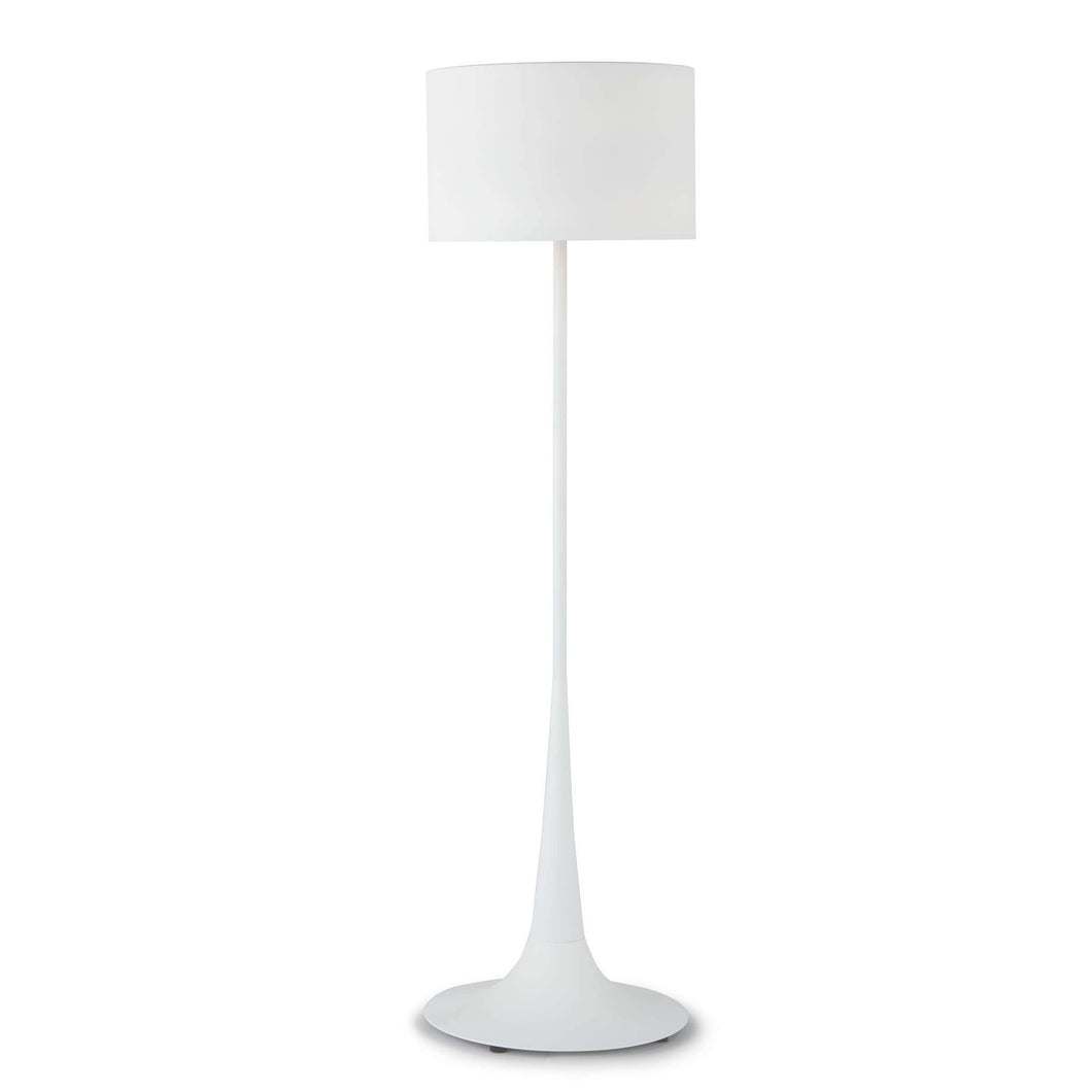 White Trilogy Floor Lamp