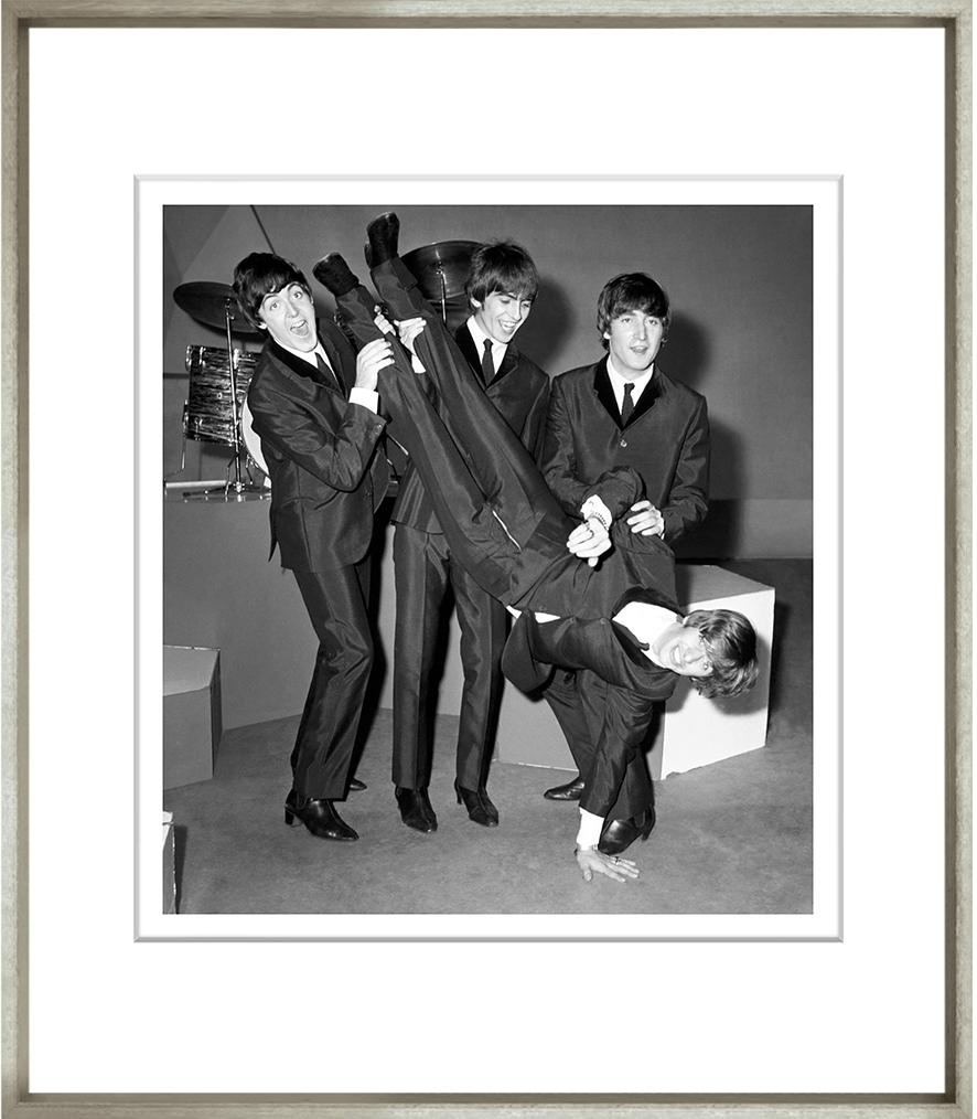 Beatles Bump Framed Black & White Print