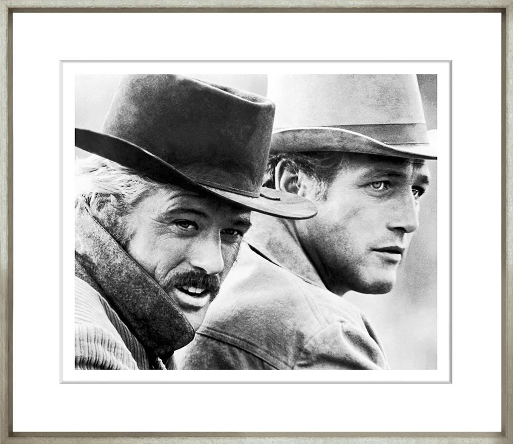 Butch Cassidy Framed Black & White Print