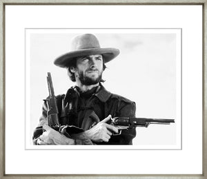 Eastwood Framed Black & White Print