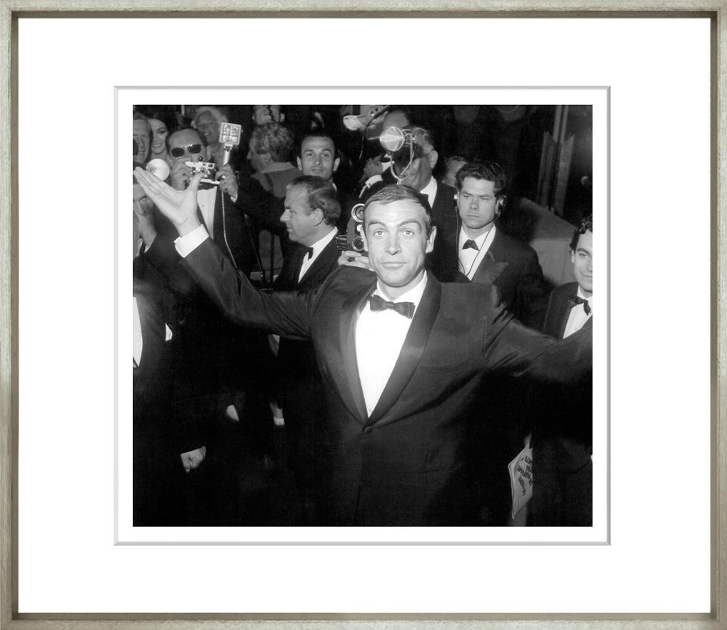 I Am Not James Bond Framed Black & White Print