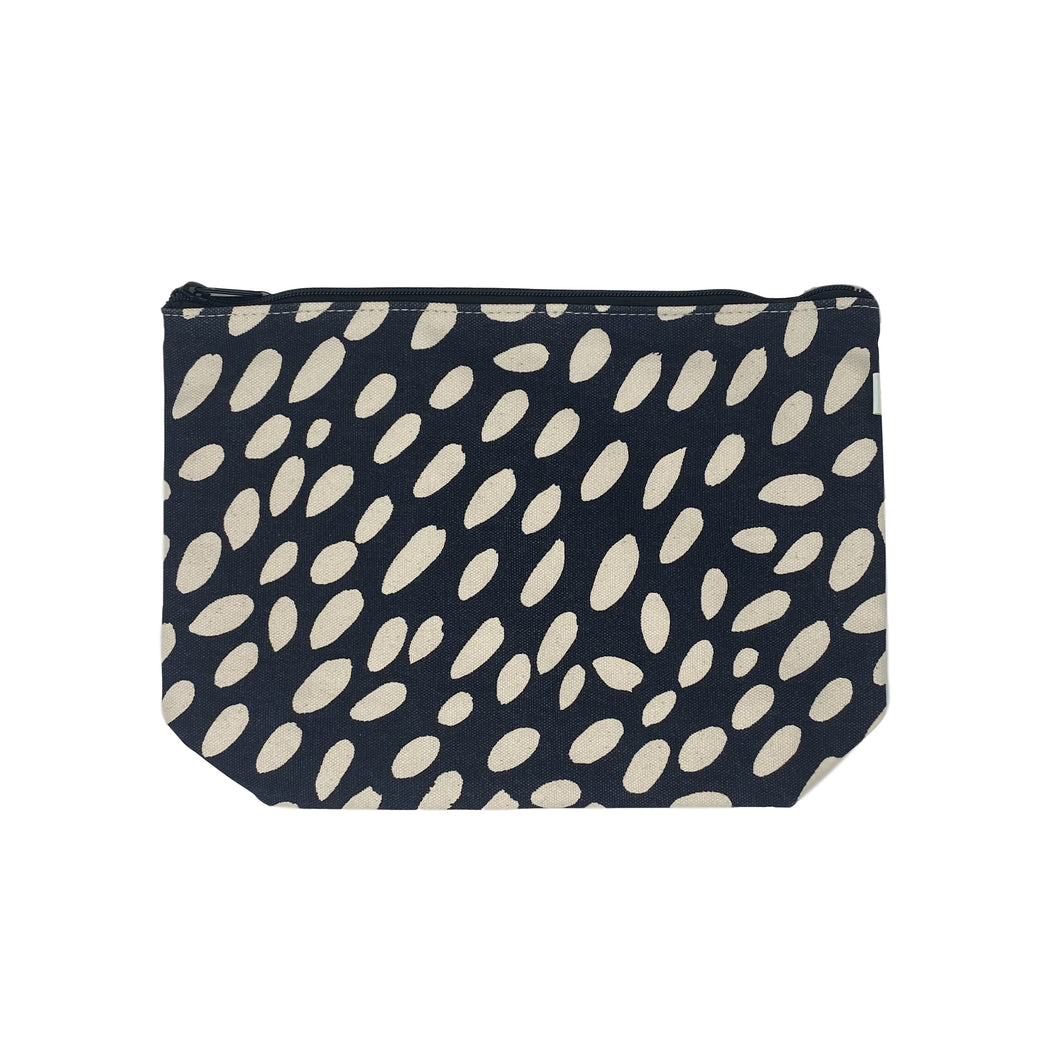 Black Cheetah Extra Large Travel Pouch