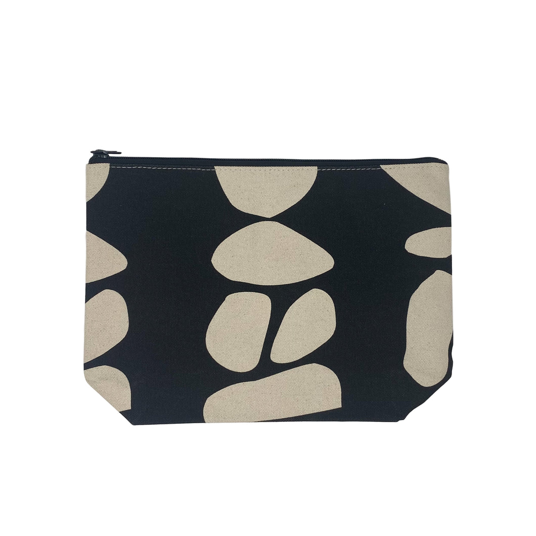 Black Totem Extra Large Travel Pouch