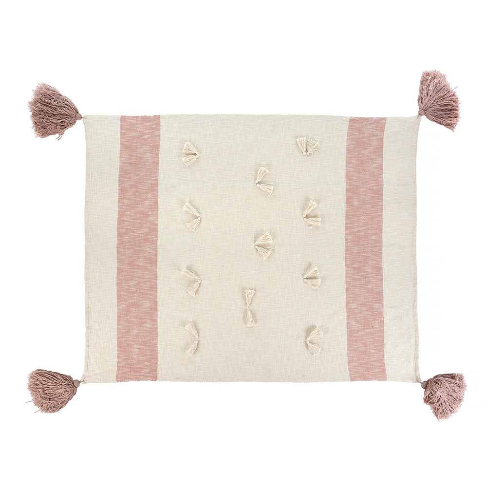 Pink Zahra Throw
