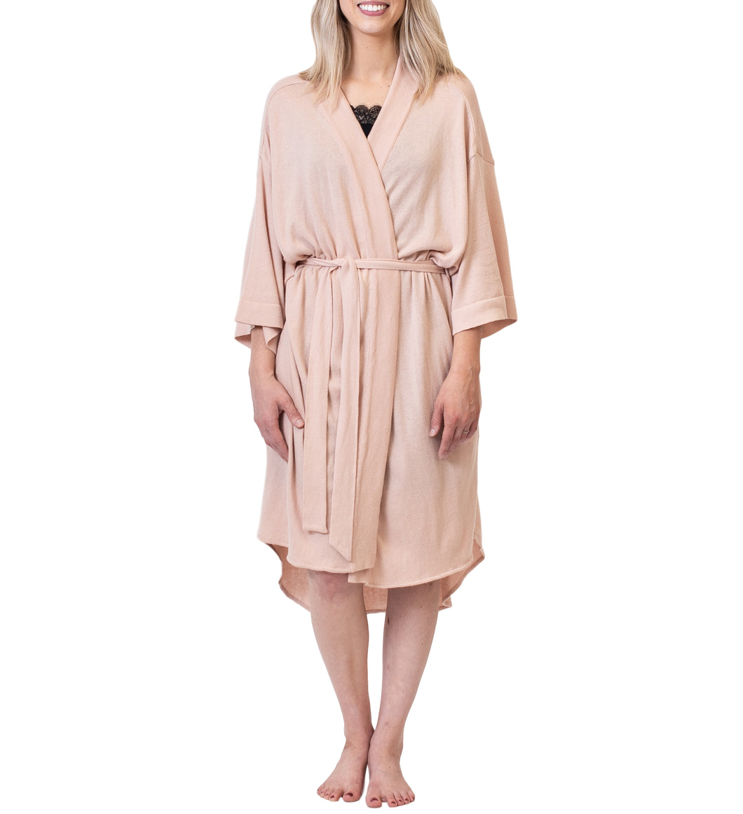 Organic Cotton Lounge Robe