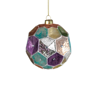 Dimpled Colored Ornament