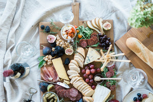 Large Rectangle Pine Charcuterie Board