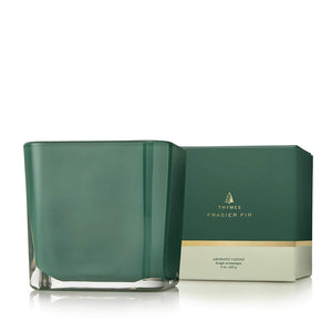 Frasier Fir Grand Noble Large Emerald Candle