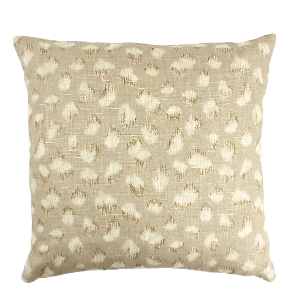 Kelly Wearstler Feline Beige/Ivory Pillow