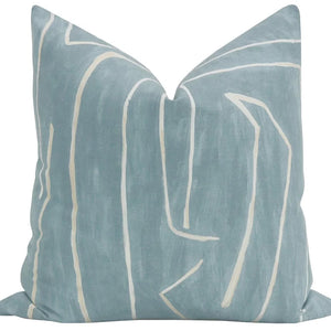 Kelly Wearstler Graffito Deep Sky Pillow