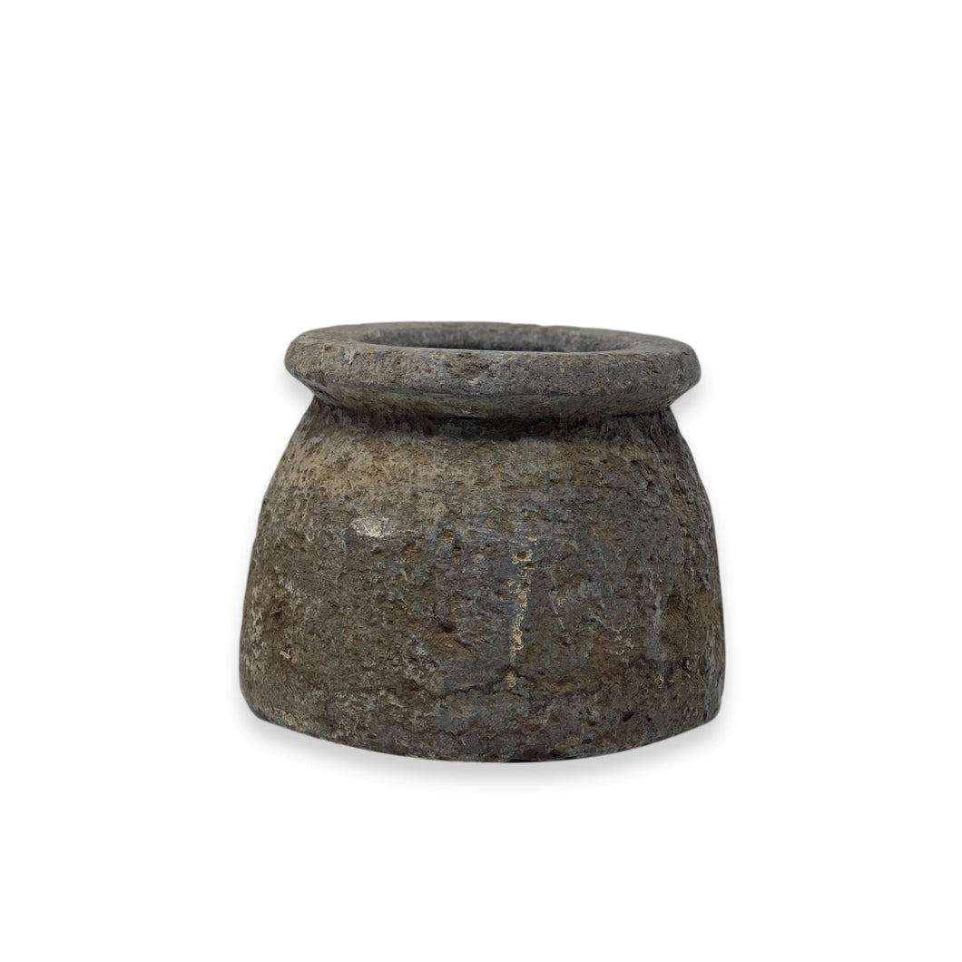 Antique Soapstone Vase - 5