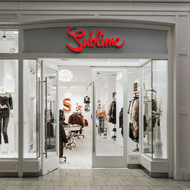 Sublime Storefront in Market Mall