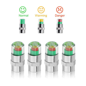 4PCS Stem Cap Auto Sensor Indicator - MotorsLova | We serve real products for real bikers !