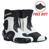 Ankle Joint Protective Motorcycle Boots - MotorsLova | We serve real products for real bikers !