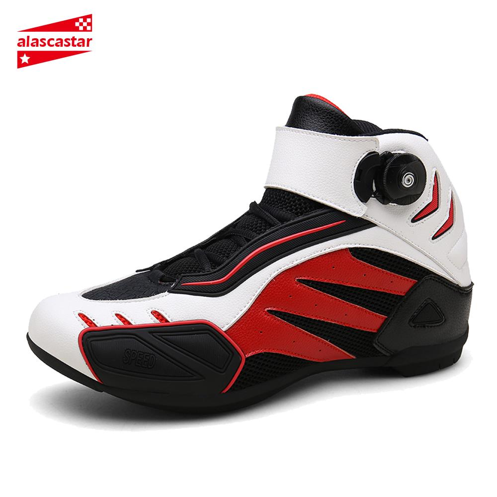 Breathable Motorcycle Boots For Men - MotorsLova | We serve real products for real bikers !