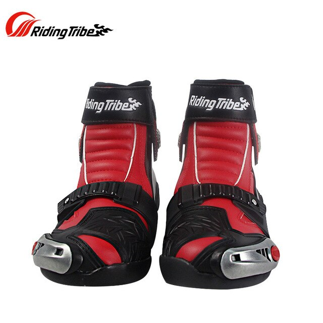 Leather Waterproof Motorcycle Riding Boots - MotorsLova | We serve real products for real bikers !