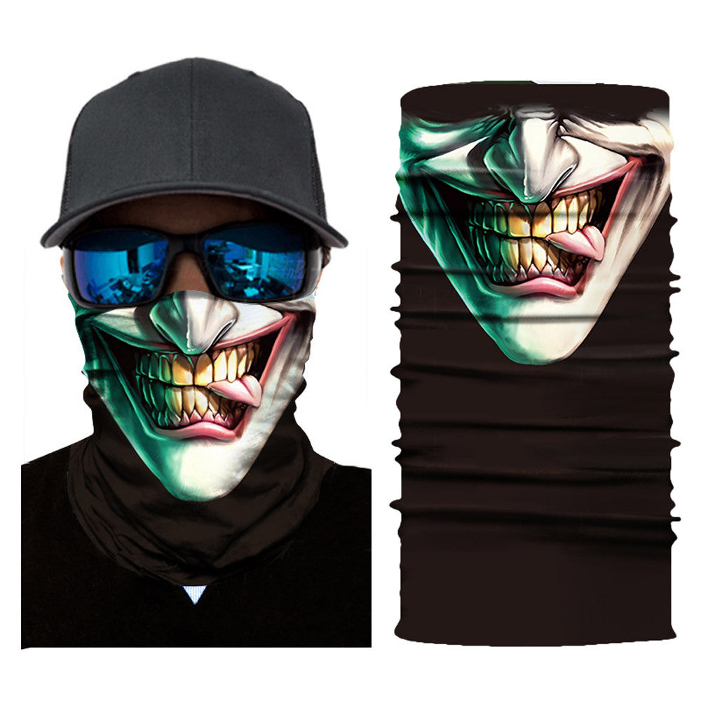 Joker Head Scarf For Bikers - MotorsLova | We serve real products for real bikers !