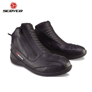 High Ankle Motorcycle Boots - MotorsLova | We serve real products for real bikers !