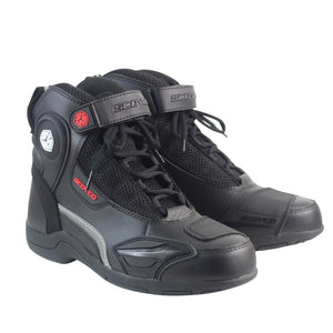 Moto Racing Leather Boots - MotorsLova | We serve real products for real bikers !