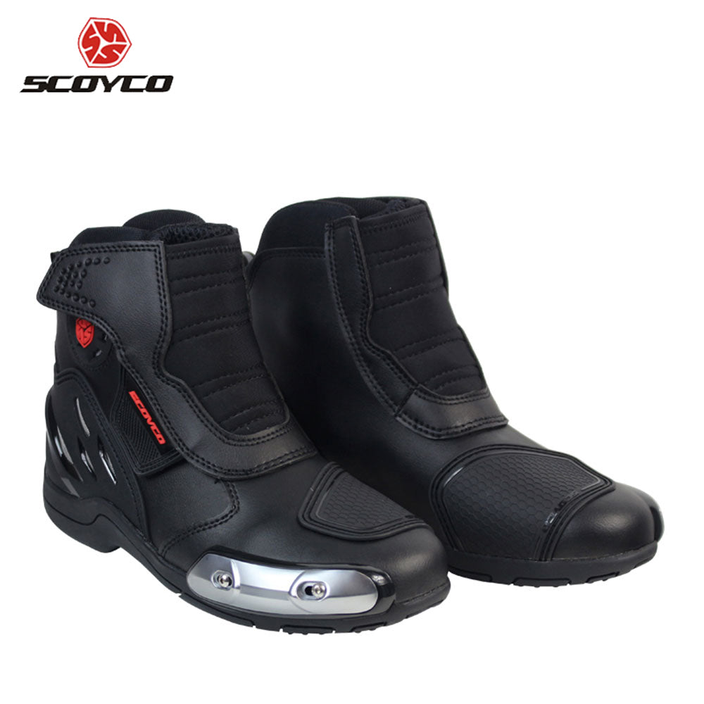 Microfiber Leather Off-Road Racing Motorcycle Boots - MotorsLova | We serve real products for real bikers !