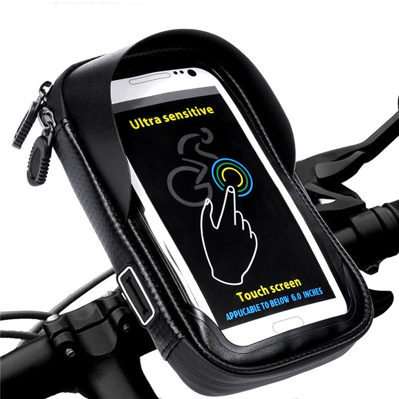 All In One Phone Holder & Rainproof Bag - MotorsLova | We serve real products for real bikers !